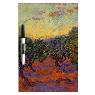 Olive Trees - Vincent Van Gogh Dry Erase Boards