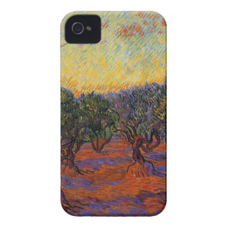 Olive Trees - Vincent Van Gogh iPhone 4 Cases