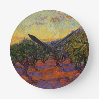 Olive Trees - Vincent Van Gogh Wallclock