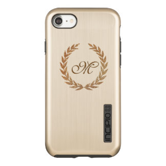 Olive Wreath Monogrammed iPhone 7 DualPro Case