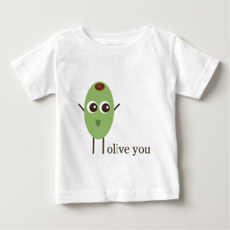 Olive You Baby T-Shirt
