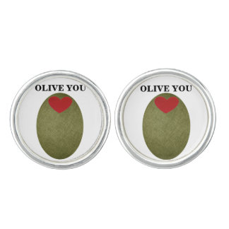 Olive You Cufflinks
