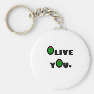 Olive you key ring