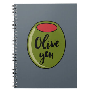 Olive You Notebook
