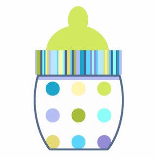 Oliver Baby Bottle Photo Sculpture Badge