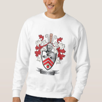 Oliver Family Crest Coat of Arms Sweatshirt
