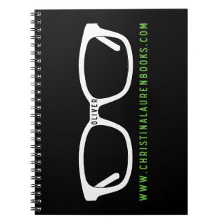 Oliver Glasses Spiral Notebook