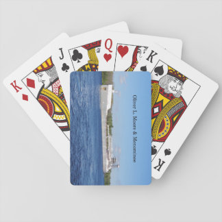Oliver L. Moore & Menominee playing cards
