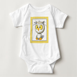 Oliver Owl Baby Outfit Body Suit Baby Bodysuit