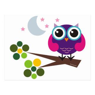 oliver the owl postcards