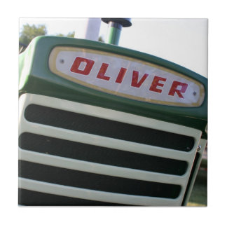 Oliver tractor tile wall hanging home decor gifts