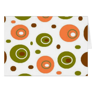 Olives Blank Note Card