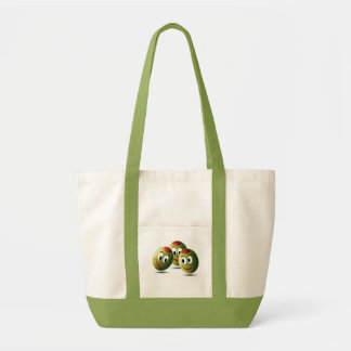 Olives filled with smile impulse tote bag