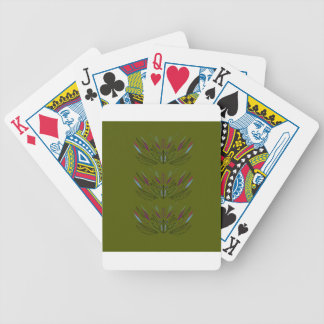 Olives green edition bicycle playing cards