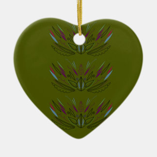 Olives green edition ceramic ornament