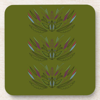Olives green edition coaster
