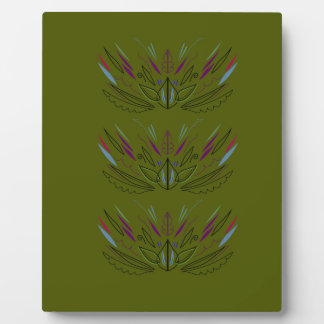 Olives green edition plaque