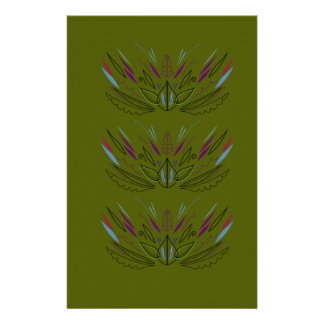 Olives green edition stationery
