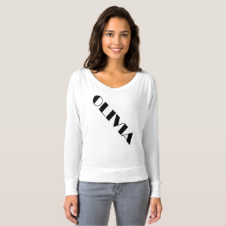 Olivia, custom text design only for Olivia T-Shirt