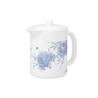 Olivia faded blueberry Small TeaPot