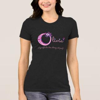 Olivia girls name and meaning O monogram shirt