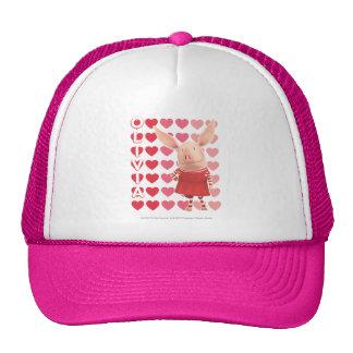 Olivia - Heart Background Cap