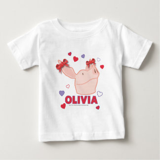 Olivia - Hearts Baby T-Shirt