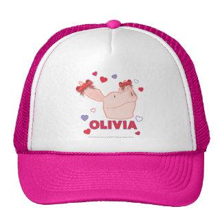 Olivia - Hearts Cap