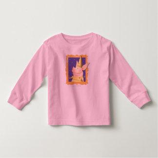 Olivia - in Yellow Frame Toddler T-Shirt