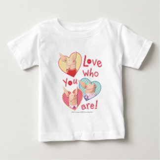 Olivia - Love Who You Are Baby T-Shirt