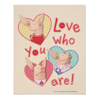 Olivia - Love Who You Are Poster