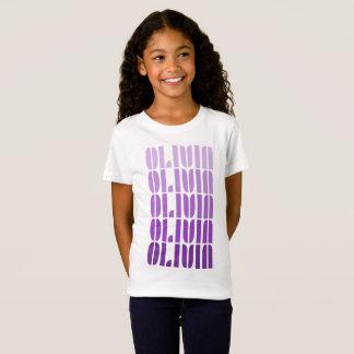 Olivia Name T-shirt