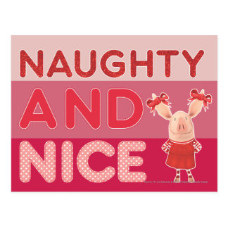 Olivia - Naughty and Nice Postcard