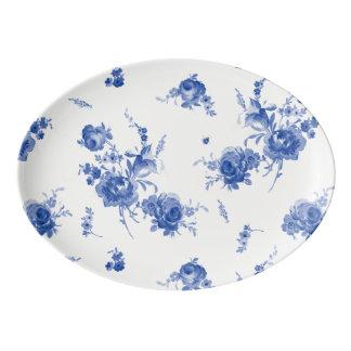 Olivia Porcelain Coupe Platter