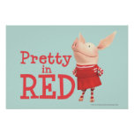 Olivia - Pretty in Red Poster