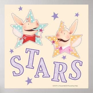 Olivia - Stars Poster