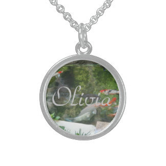 Olivia sterling silver necklace