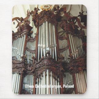 Oliwa Cathedral organ mousepad