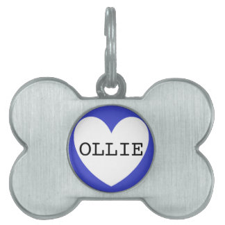 ❤️   OLLIE pet tag by DAL