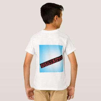 OlliecTV White Summer 2017 Kids Shirt