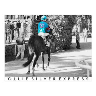 Ollysilverexpress & Joe Mazza Postcard