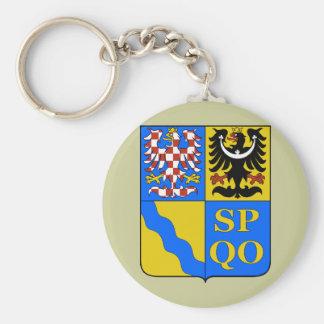 Olomouc Region, Czech Key Ring