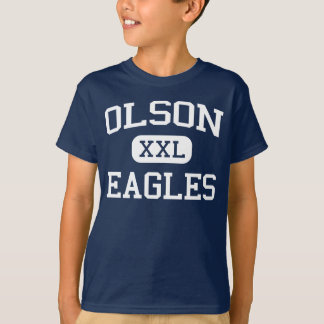 Olson Eagles Middle School Mauston Wisconsin T-Shirt