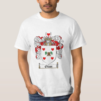 Olson Family Crest - Olson Coat of Arms T-Shirt