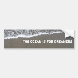 olymic penn. 027, the ocean is for dreamers bumper stickers