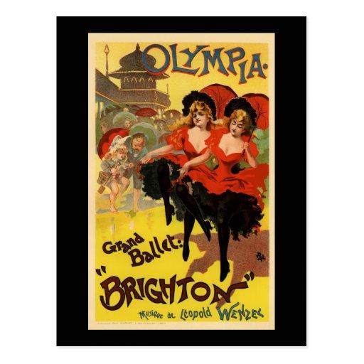 Olympia Grand Ballet Brighton Post Card
