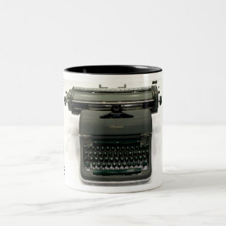 Olympia SG-1 typewriter Two-Tone Coffee Mug