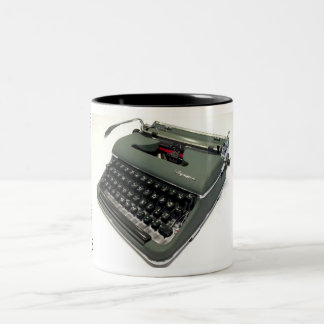 Olympia SM3 typewriter Two-Tone Coffee Mug