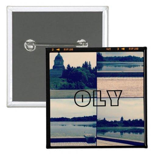 Olympia, Washington Button
