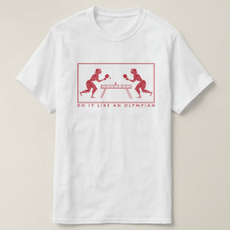Olympian Table Tennis Funny Sports Pun T-Shirt
